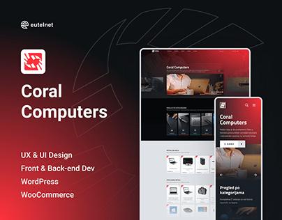 Coral Computers Website