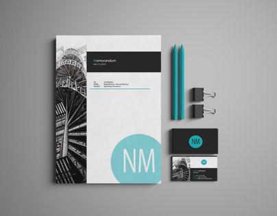 Memorandum and visit card