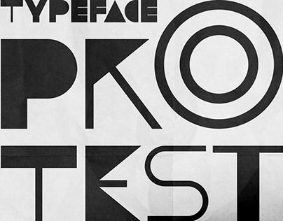 PROTEST   Font design