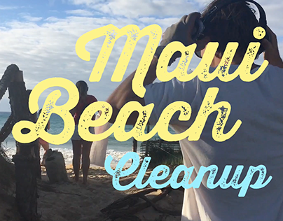 Maui Beach Cleanup - Event Promo - Video