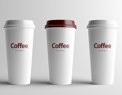 Coffee Cup Mock-Up - Large