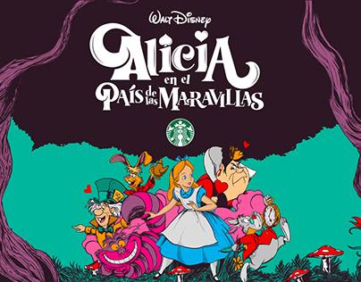 Starbucks x Walt Disney | Alice in Wonderland