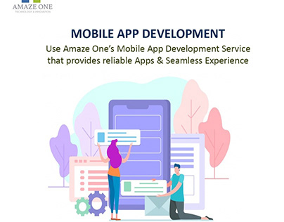 Best Mobile App Development Company in USA - Amaze One