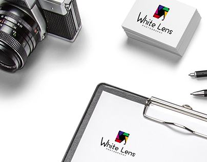 White Lens Photography (Branding)