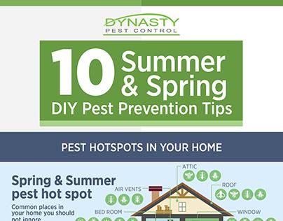10 Summer & Spring DIY Pest Prevention Tips