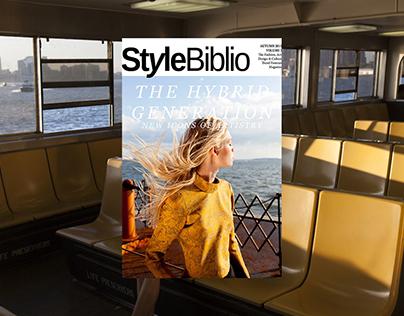 The Hybrid Generation Issue - Style Biblio Magazine