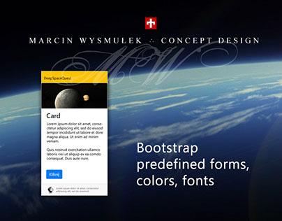 Standard Bootstrap card