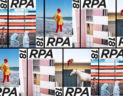 RPA 18 - Arles festival's new identity