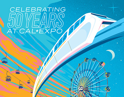 California State Fair - 50th Anniversary Poster 2017