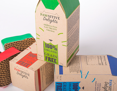 Pawsitive Delights - Sustainable Packaging