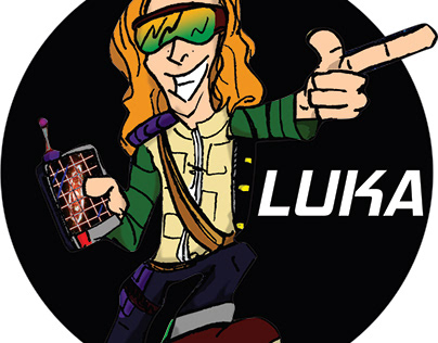 TREASURE PLATE: ORIGINS Comic - LUKA