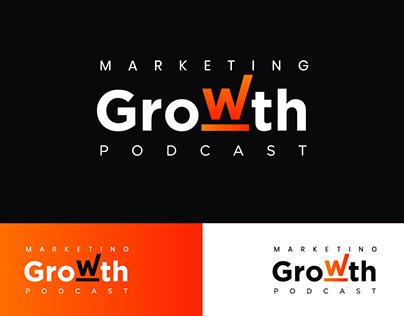 Podcast Logo Identity - Marketing Growth Podcast