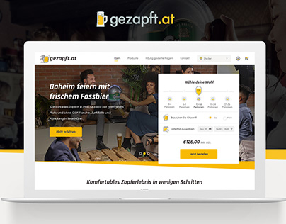 Gezapft Beer Website