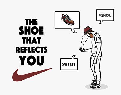 The shoe that reflects you #Shou