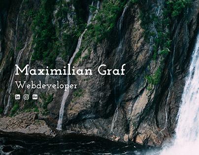 maximiliangraf.de - Online Portfolio