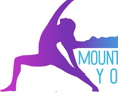 Mountain View Yoga Logo Design