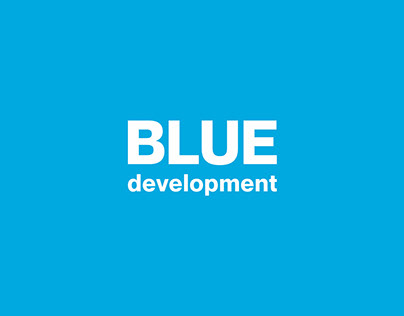 Blue development