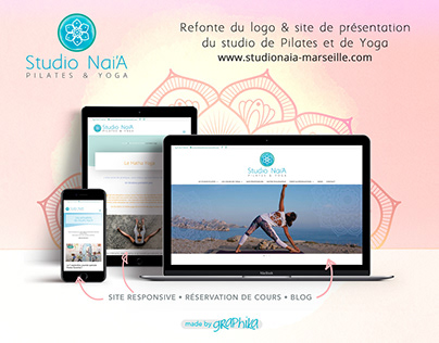 Site vitrine responsive + Blog