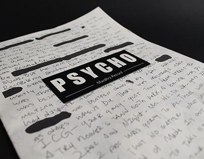 PSYCHO · PUBLICACIÓN INDEPENDIENTE