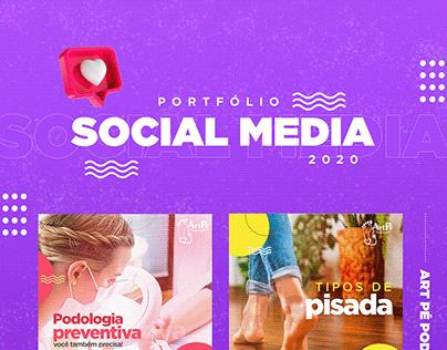 SOCIAL MEDIA 2020 | PODOLOGIA, PIZZARIA E FARMÁCIA