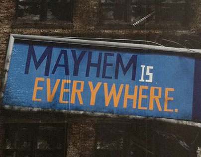 Allstate Mayhem OOH