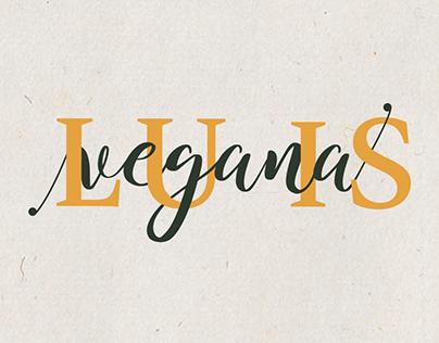 Lu is Vegana. Logotipo +Instagram