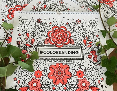 # COLOREANDING CALENDARIO 2018