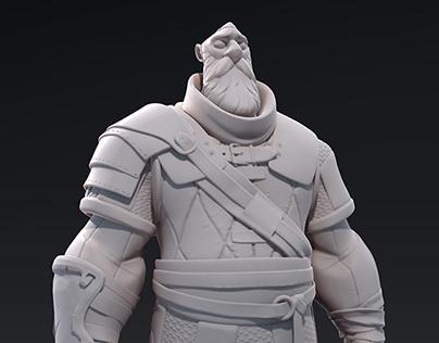 Brokkr úlfarR - 3D Sculpt
