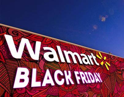 Праздничная визуализация Walmart