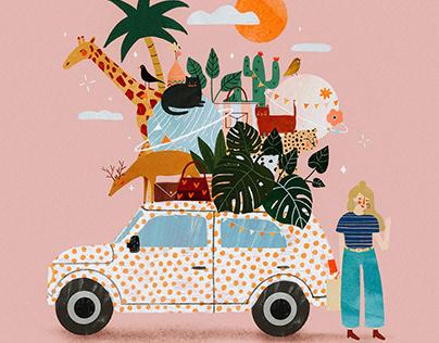 Summer mood ║ Personal illustrations