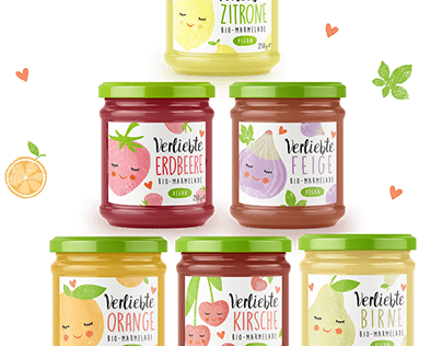 Obstliebe Project - Organic Marmelade Package