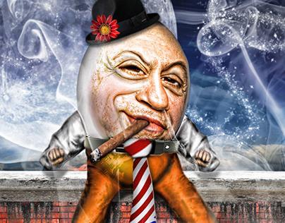 Danny Devito as Humpty Dumpty