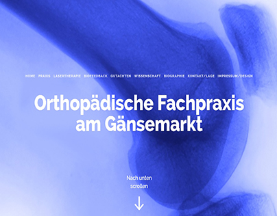 Orthopädische Fachpraxis am Gänsemarkt