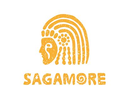 Sagamore   сoffehouse   identity branding