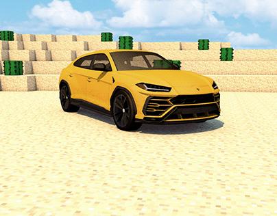 Lamborghini x Minecraft