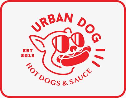URBAN DOG HOT DOGS Branding