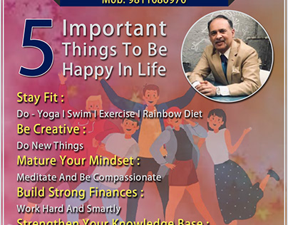 5 Important Things To Be Happy In Life
