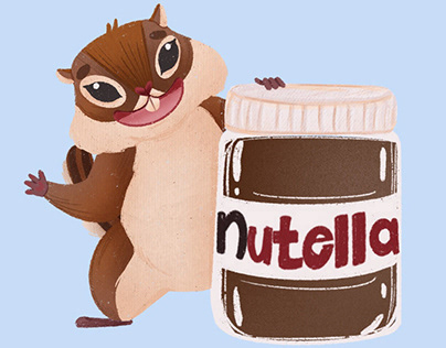 Mascot for Nutella