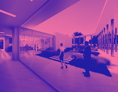 salles polyvalentes, Nesle - Trace architectes