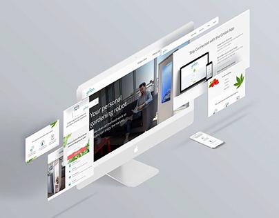 Grobo Website Redesign