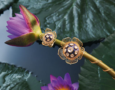 Abhigyan Shakuntalam (Pret) Inspired by Indian Flowers