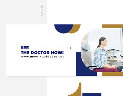 My Virtual Doctor Logo and webpage