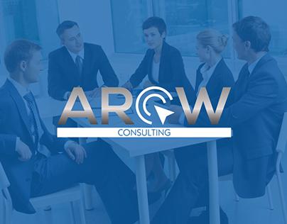 Arow Consulting Logo & website deisgn