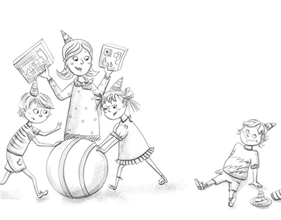 Illustrations for a parent's book