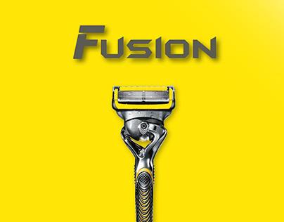 Fusion razor product design