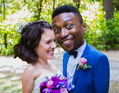 RoZo Wedding Portrait