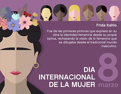 Dia Internacional de la Mujer Ilustraciones vectoriales