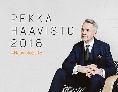 Presidential Campaign for Pekka Haavisto