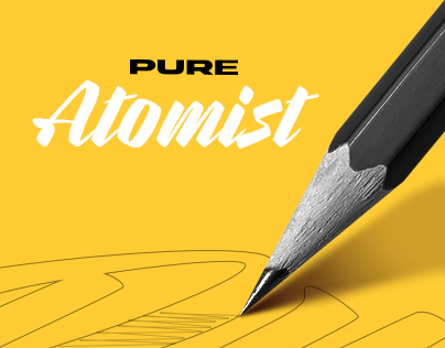 Pure Atomist - Branding & Web