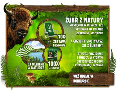 Żubr beer activation